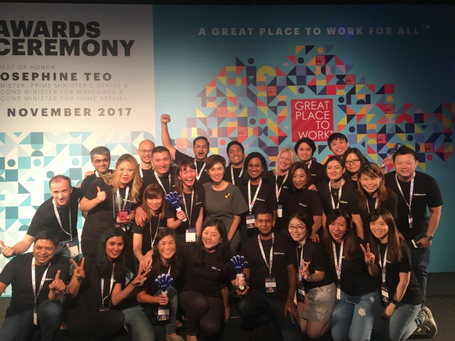 Singapore Best Places to Work